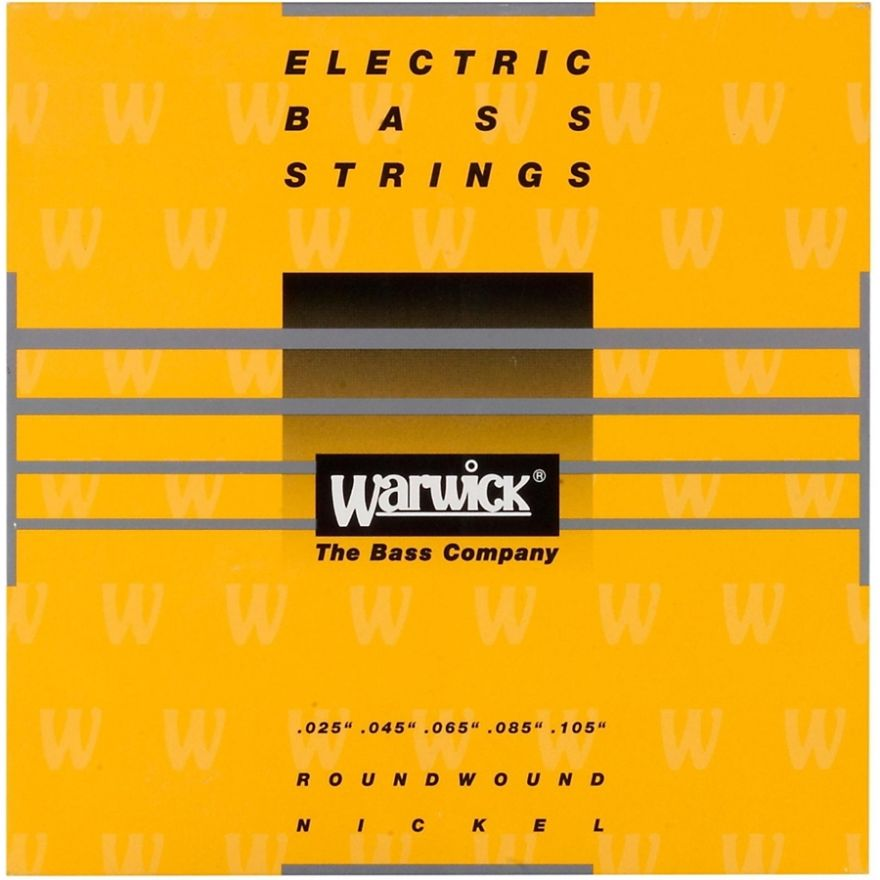 WARWICK YELLOW LABEL 41311 ML 5B - Muta per Basso Elettrico 5 Corde Medium Light (025/105)