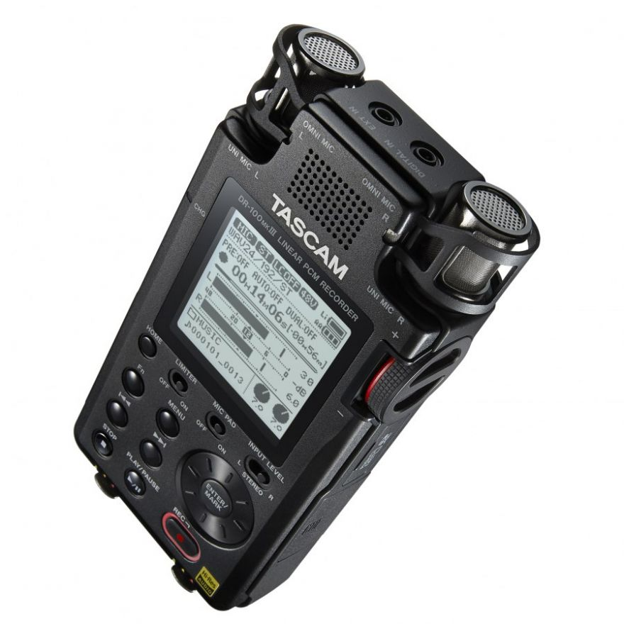 TASCAM DR 100 MKIII - Registratore Stereo Portatile