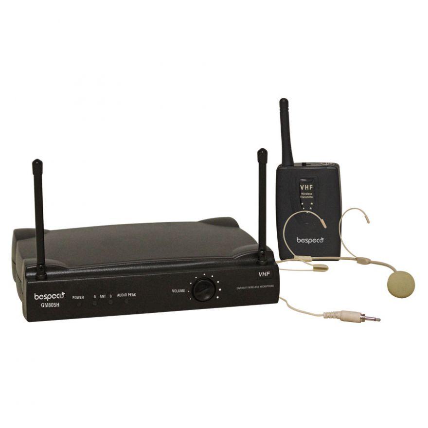 BESPECO GM805H - Radiomicrofono Singolo Headset VHF