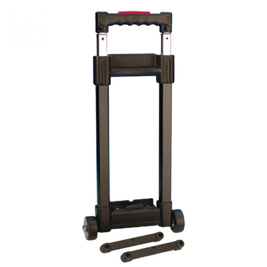 Adam Hall Hardware 3472 - Trolley a 1 Allungamento smontabile lunghezza 420 - 960 mm