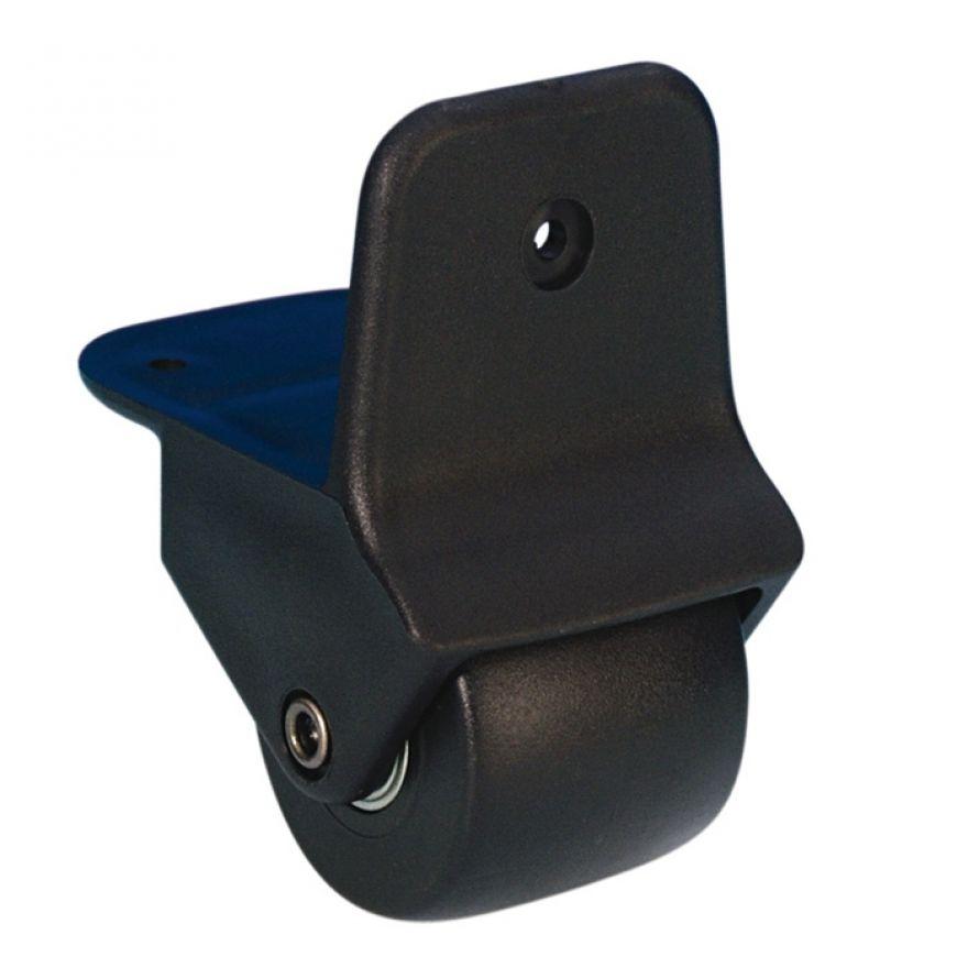 Adam Hall Hardware 3780 - Ruota Angolare da 50 mm a Montaggio Esterno in Alloggiamento in nylon