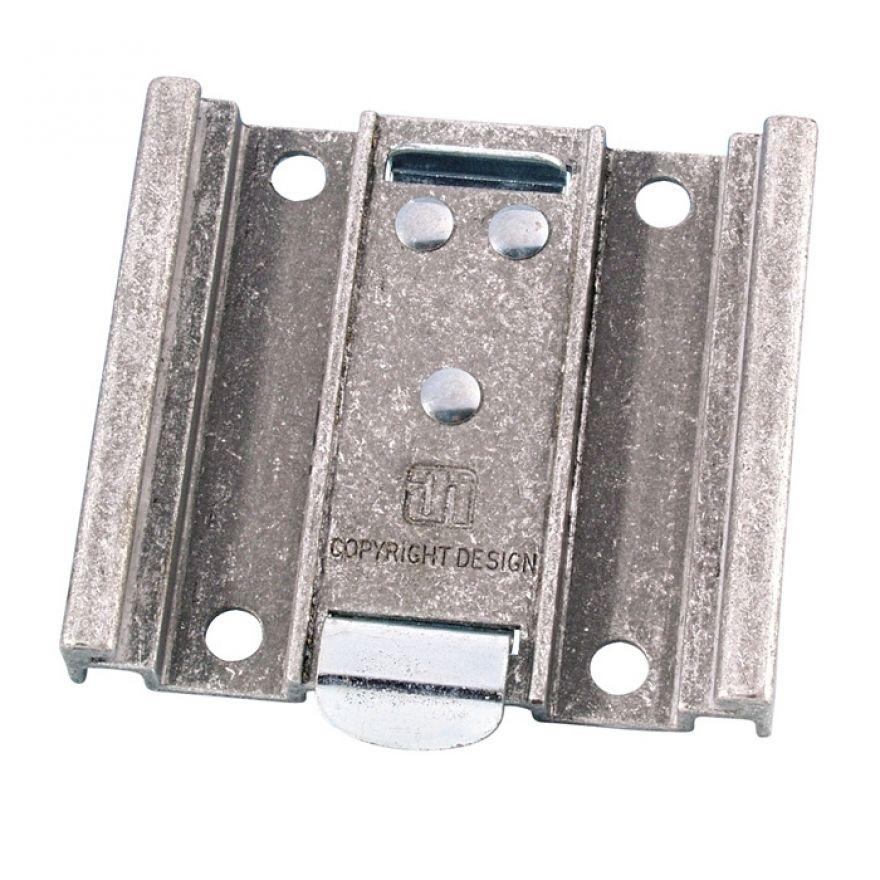 Adam Hall Hardware 38090 - Piastra Intercambiabile per Ruote Guitel 100 mm
