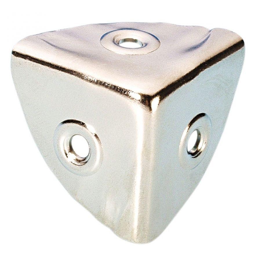Adam Hall Hardware 4008 - Angolo piccolo nichelato