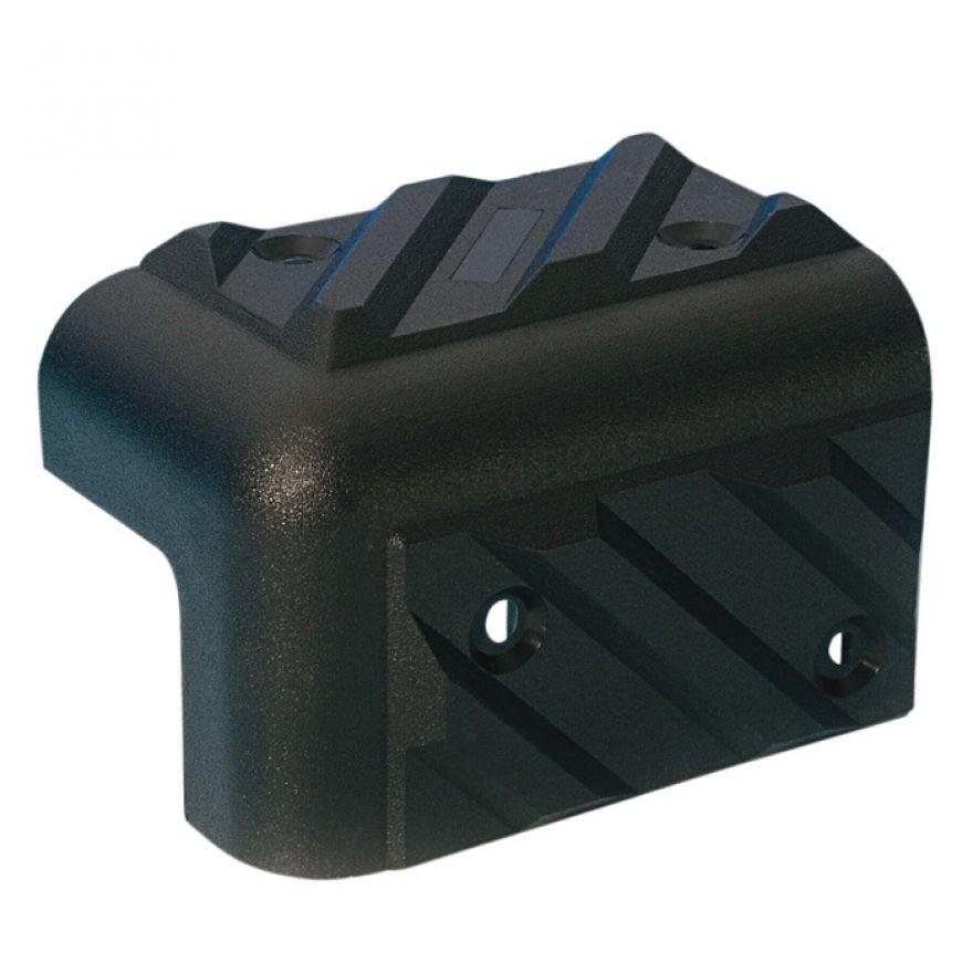 Adam Hall Hardware 4013 - Angolo in plastica per Casse impilabile nero