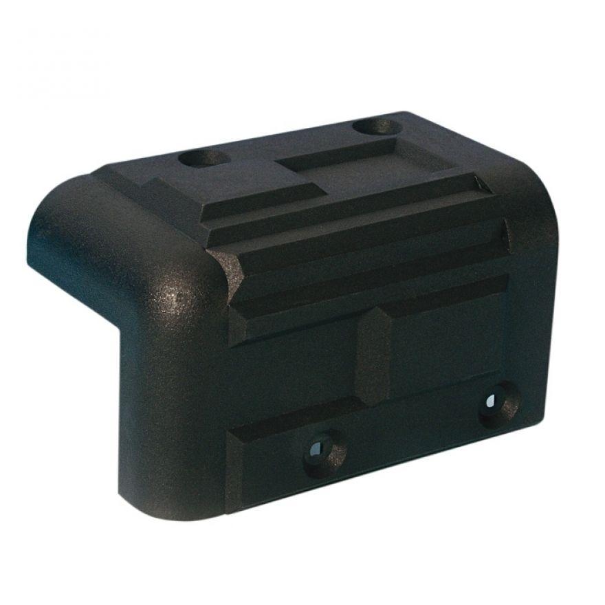 Adam Hall Hardware 4071 - Angolo in plastica per Casse impilabile nero