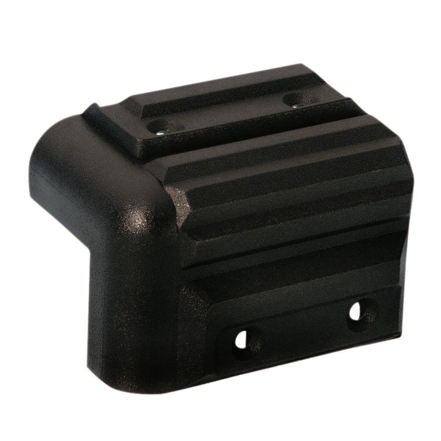 Adam Hall Hardware 4072 - Angolo in plastica per Casse impilabile nero