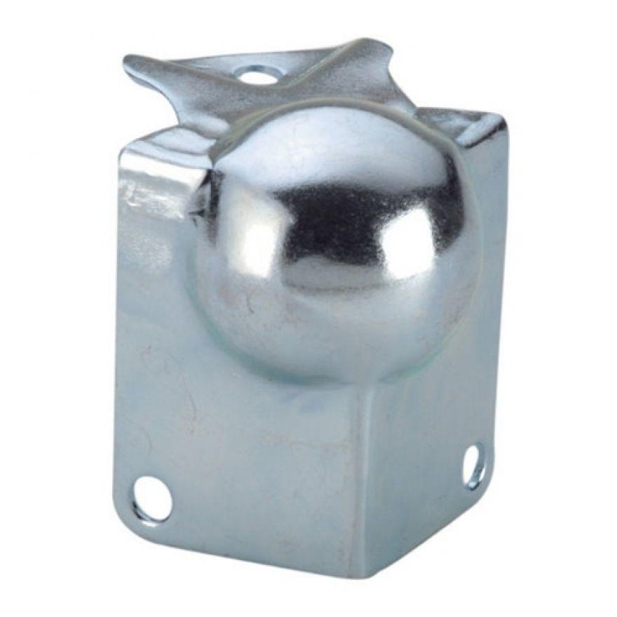 Adam Hall Hardware 41141 - Angolo Sferico piccolo con Angolo a L 39 mm integrato sagomato 22 mm