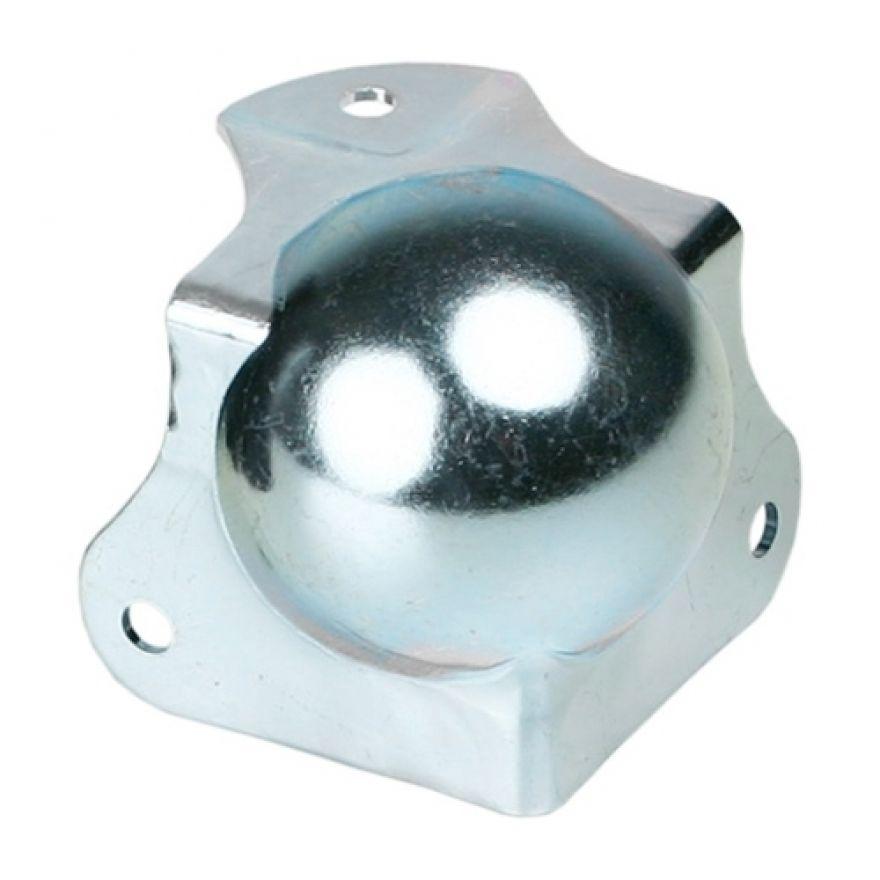 Adam Hall Hardware 41262 - Angolo Sferico medio con Angolo a L 42,5 mm integrato sagomato 30 mm