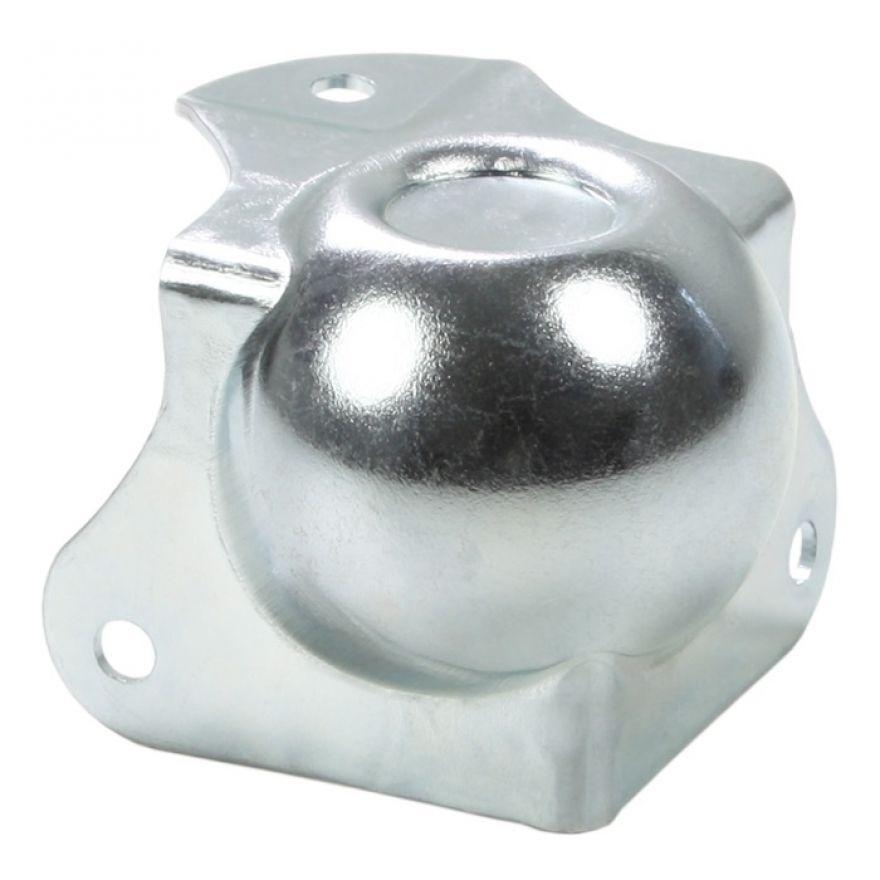 Adam Hall Hardware 41263 - Angolo Sferico medio con Angolo a L 40 mm integrato sagomato 30 mm con Rientranza per Impilaggio