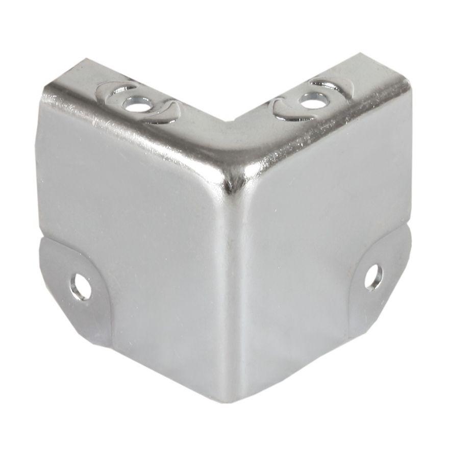 Adam Hall Hardware 4145 - Angolo a due Fianchi sagomato per Profilo di Copertura Coperchio 6145