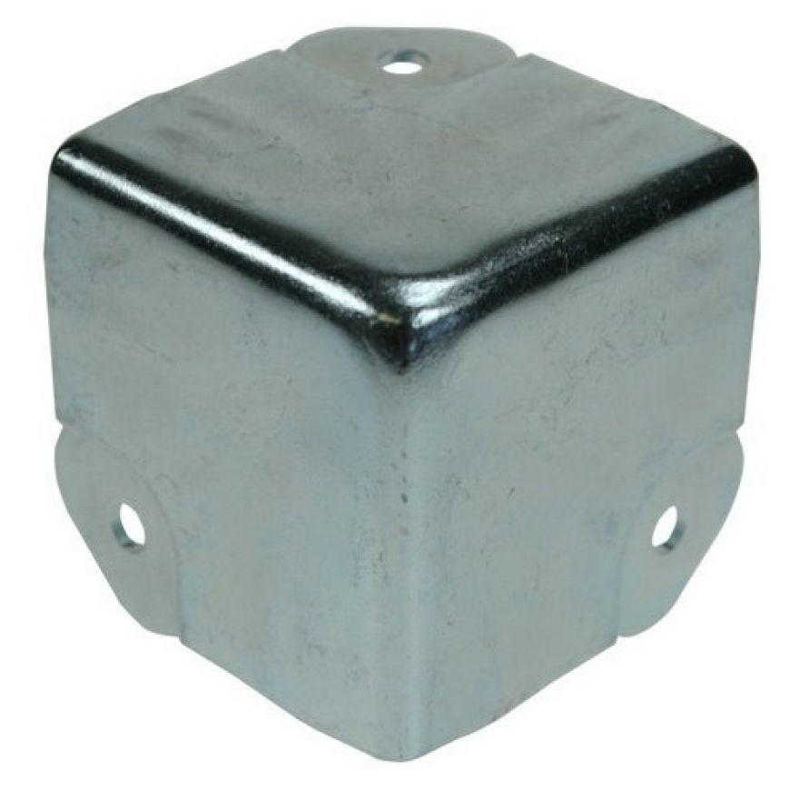 Adam Hall Hardware 4146 - Angolo a tre Fianchi sagomato per Profilo di Copertura Coperchio 6145