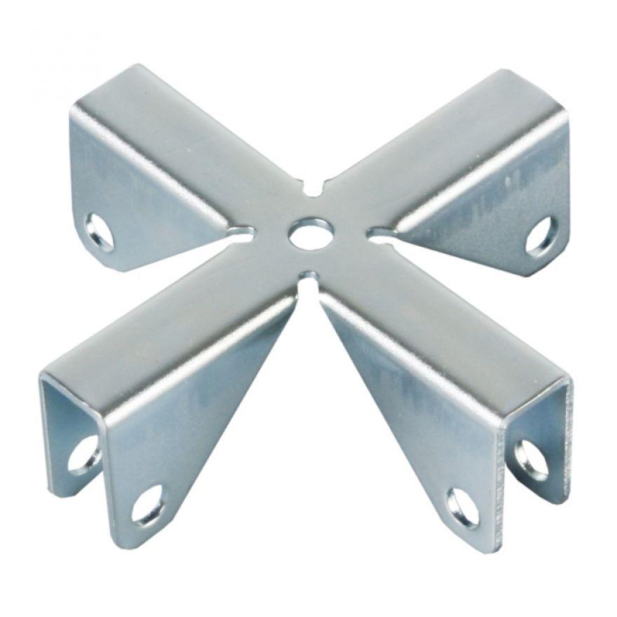 Adam Hall Hardware 4291 - Croce per Pannelli divisori 9,2 mm