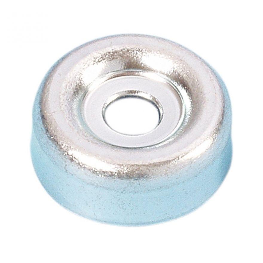 Adam Hall Hardware 4935 - Piedino Scorrevole in acciaio piccolo 20 x 7 mm