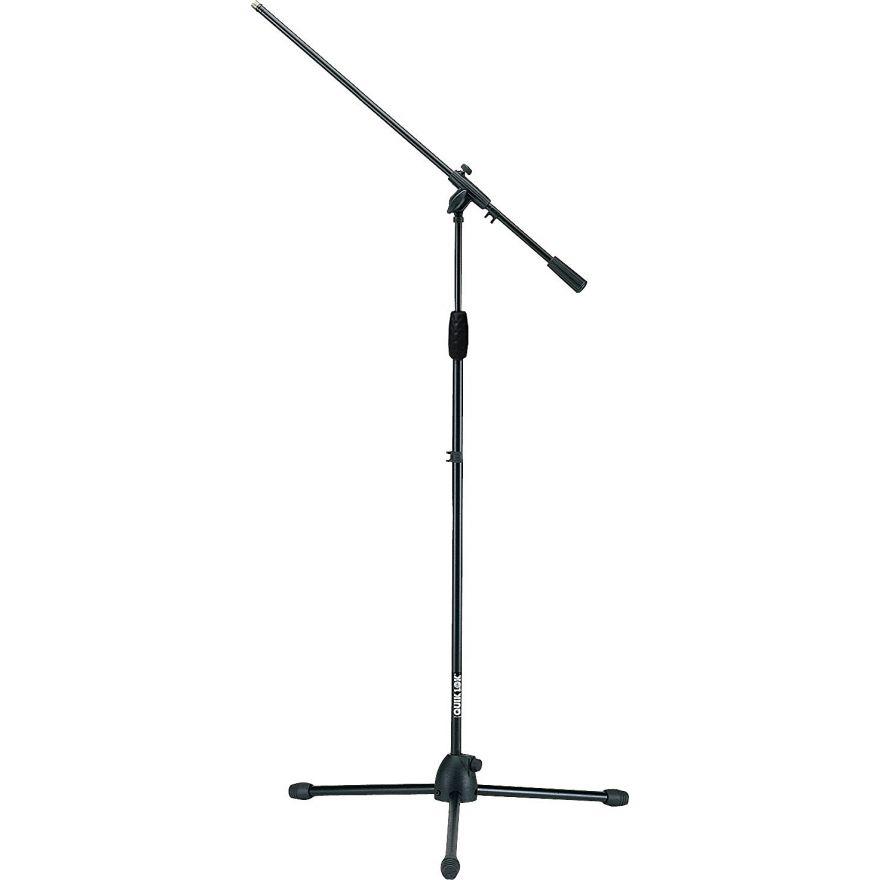 "QUIKLOK A300BK Asta a giraffa microfono / snodo nylon tubolare rinforzato ""Microlite"" robusto e leggero"