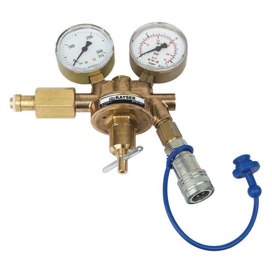 Showtec - CO2 Q-Lock Regulator - FX Hardware