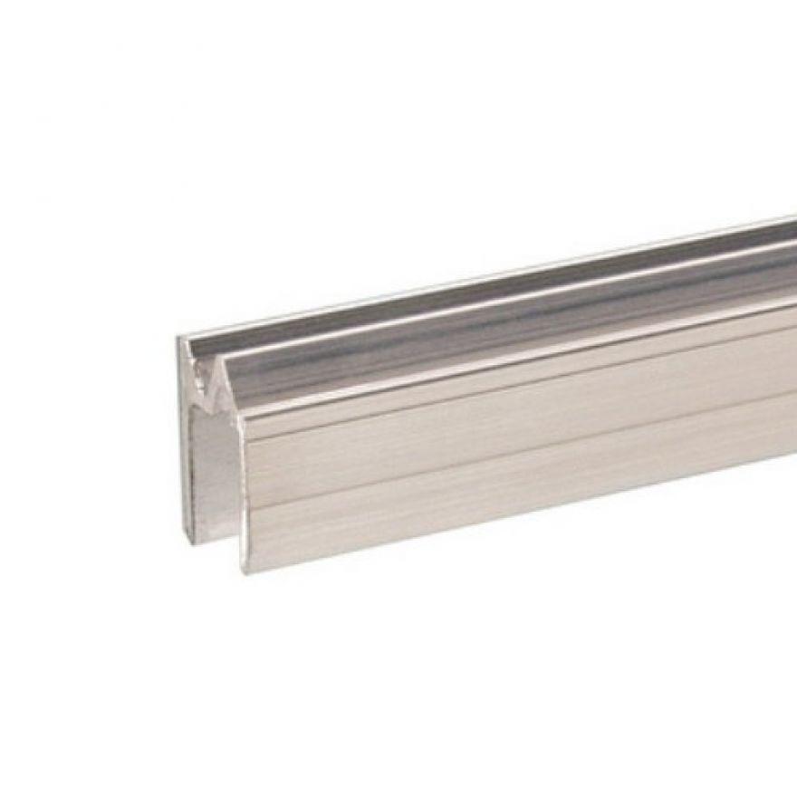 Adam Hall Hardware 6103 - Profilo di Chiusura ibrido di alluminio per Materiale da 9,5 mm