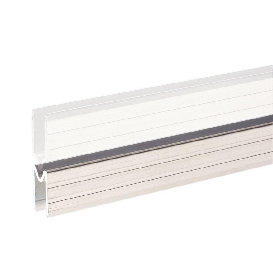 Adam Hall Hardware 6123 F - Profilo di Chiusura in alluminio femmina per Materiale da 9,5 mm