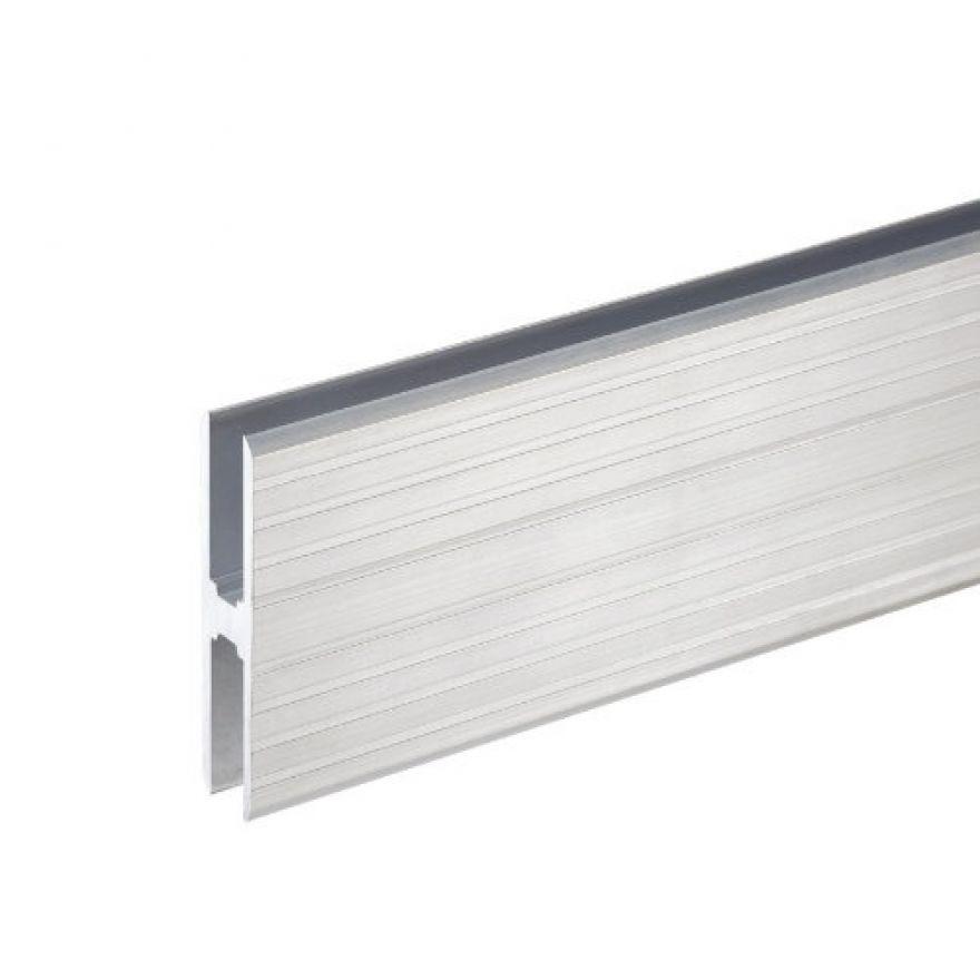Adam Hall Hardware 6128 - Profilo ad H in alluminio Heavy Duty per Collegamento di Superfici da 10 mm