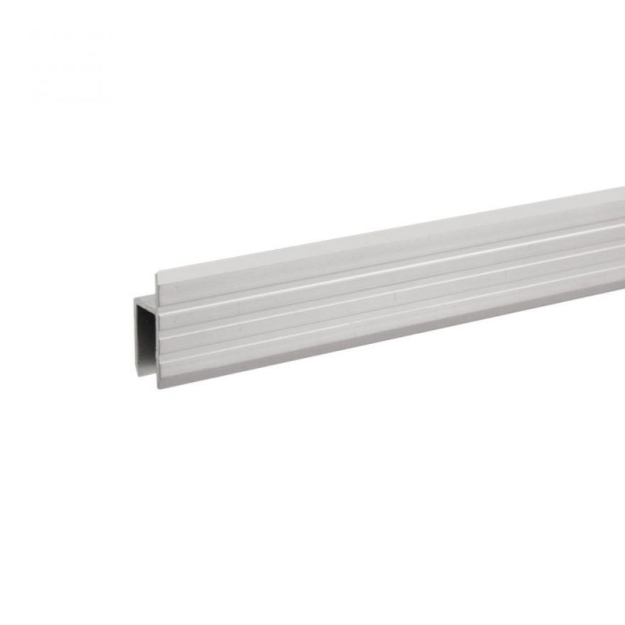 Adam Hall Hardware 6130 - Profilo ad H in alluminio per Sportelli Rack da 9,5 mm