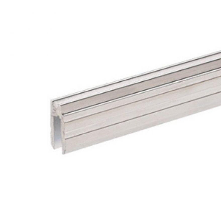 Adam Hall Hardware 6132 - Profilo di Chiusura ibrido di alluminio per Materiale da 4 mm
