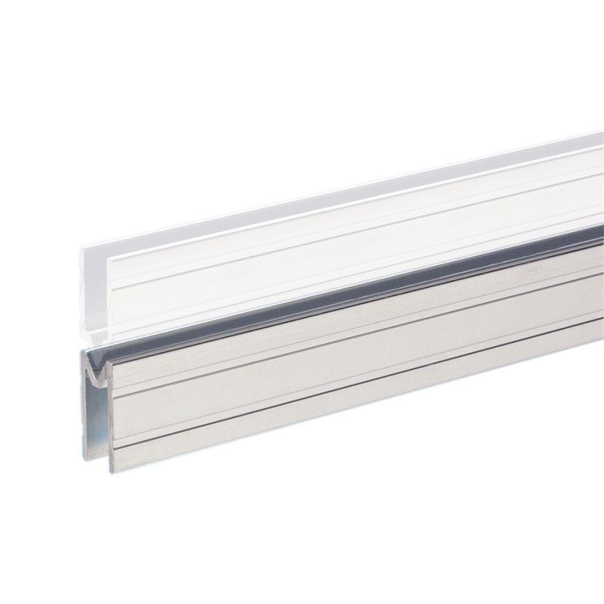 Adam Hall Hardware 6142 F - Profilo di Chiusura in alluminio femmina per Materiale da 7 mm