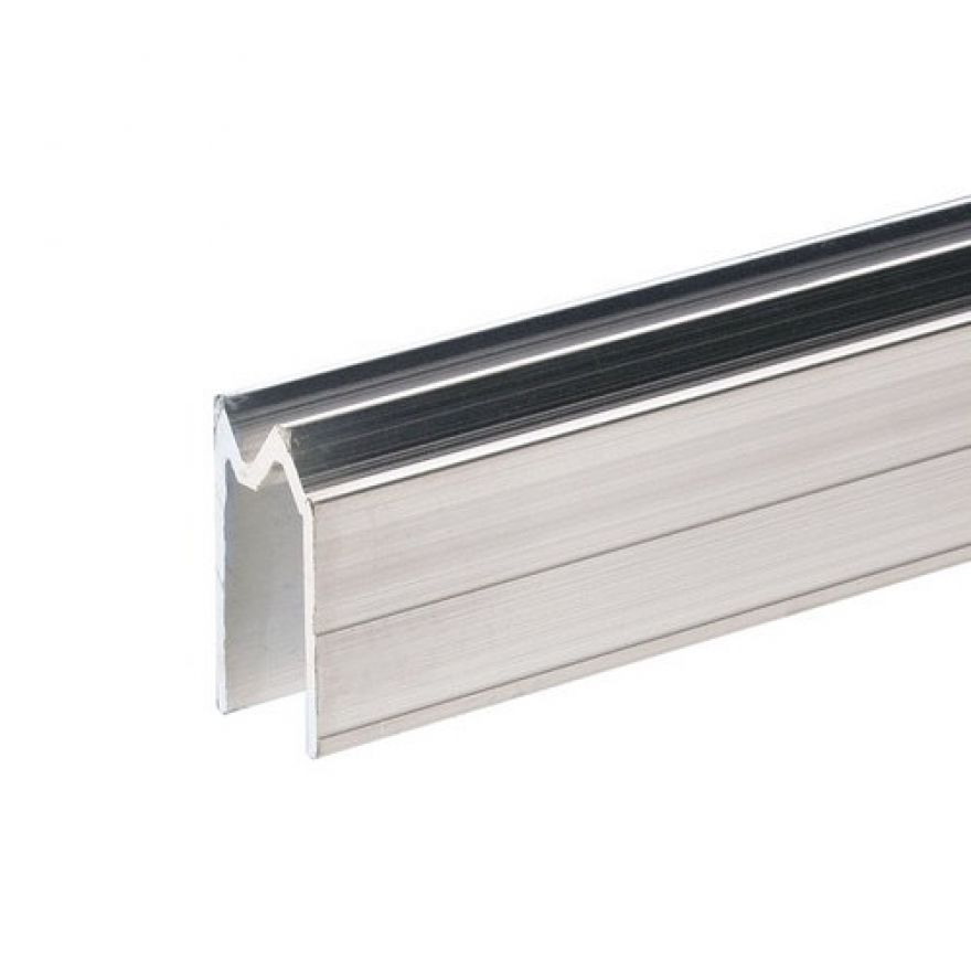 0 Adam Hall Hardware 6201 - Profilo di Chiusura ibrido di alluminio per Materiale da 11 mm