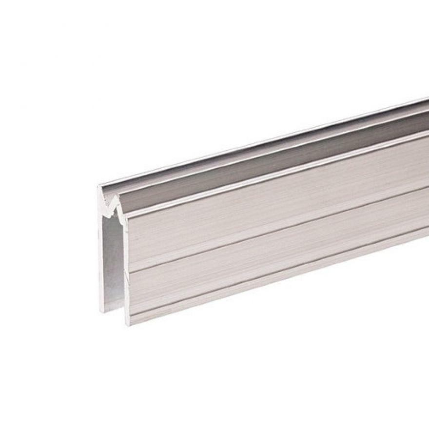 Adam Hall Hardware 6202 - Profilo di Chiusura ibrido di alluminio per Materiale da 7 mm