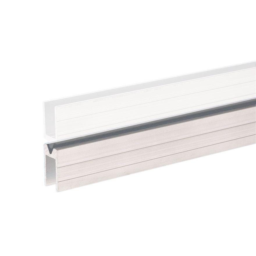 Adam Hall Hardware 6206 F - Profilo di Chiusura in alluminio femmina per Materiale da 10 mm