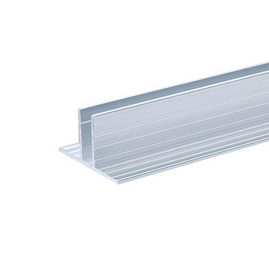 Adam Hall Hardware 6210 - Canale in alluminio per Pannelli Divisori da 7 mm