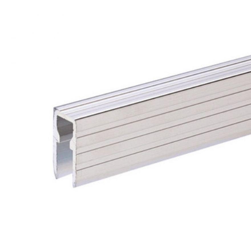 Adam Hall Hardware 6220 - Copertura in Alluminio ed Elemento di Fissaggio per Pannelli Divisori da 9,5 mm
