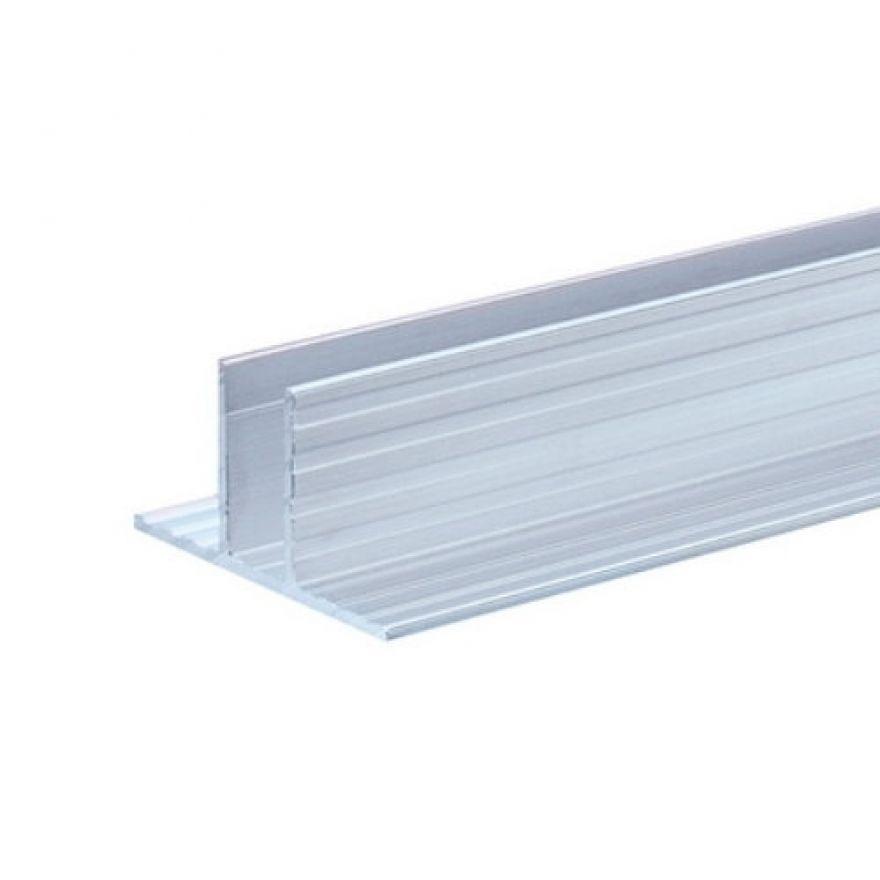 Adam Hall Hardware 6230 - Canale in alluminio per Pannelli Divisori da 9,5 mm