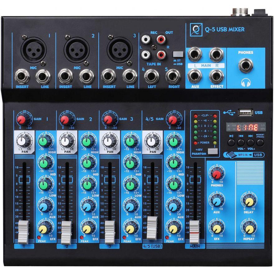 Oqan MIXER Q5 MK2 USB Mixer