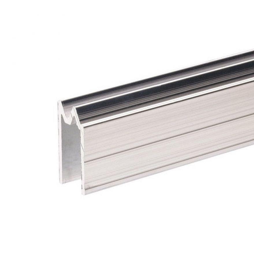 Adam Hall Hardware 6304 - Profilo di Chiusura ibrido di alluminio per Materiale da 9,5 mm