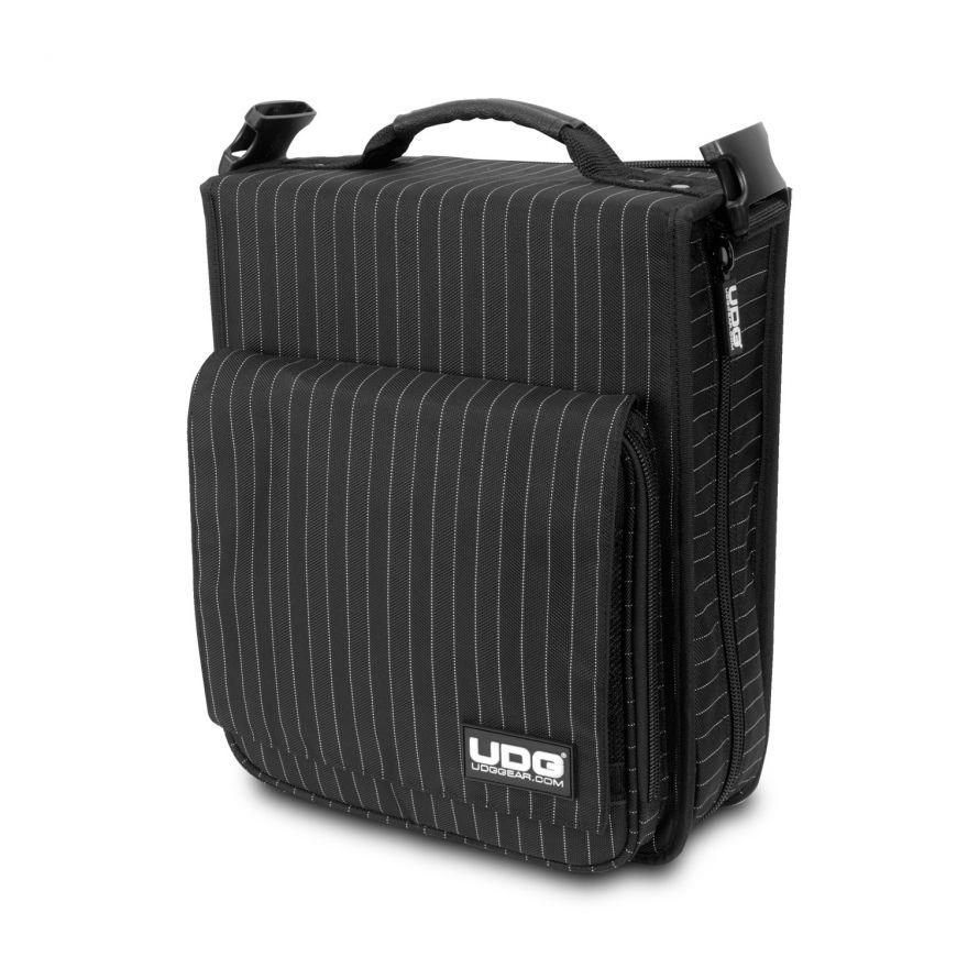 Udg U9646BG - UDG ULTÍMATE CD SLINGBAG 258 BLACK/GREY STRIPE Custodia / borsa per attrezzature da dj