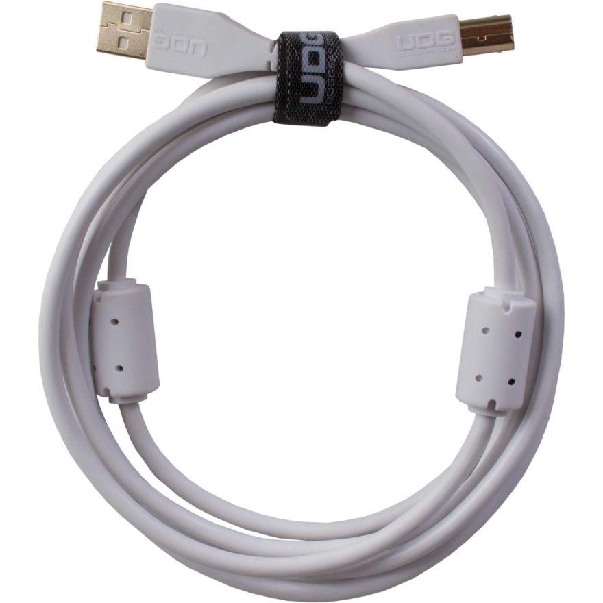 Udg U95003WH - ULTIMATE CAVO USB 2.0 A-B WHITE STRAIGHT 3M Cavo usb