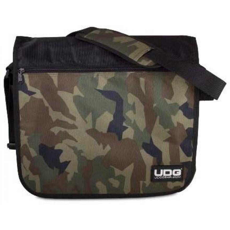 Udg U9450BC/OR - ULTIMATE COURIERBAG BLACK CAMO, ORANGE INSIDE