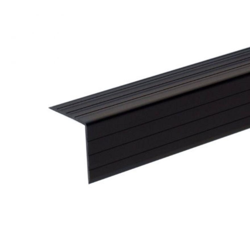 Adam Hall Hardware 6605 - Protezione degli Spigoli in plastica 30 x 30 mm nera