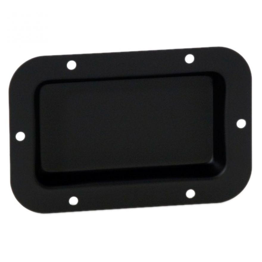 Adam Hall Hardware 8705 BLK - Piastra di Montaggio nera non stampata