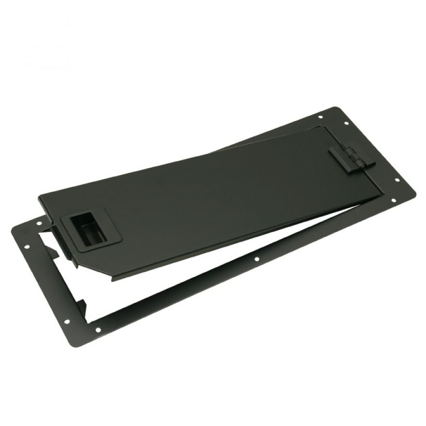 Adam Hall Hardware 87602 - Sportello Rack Altezza 16 cm