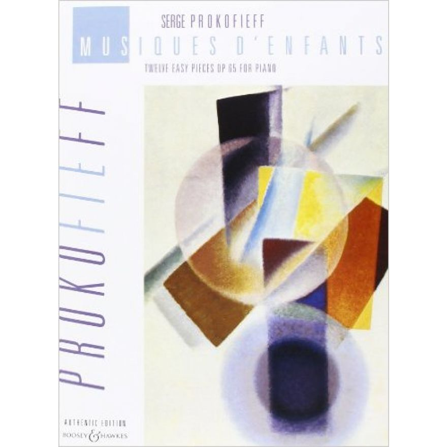 Sergei Prokofiev - Musiques d'Enfants LIBRO PER PIANOFORTE CLASSICO -