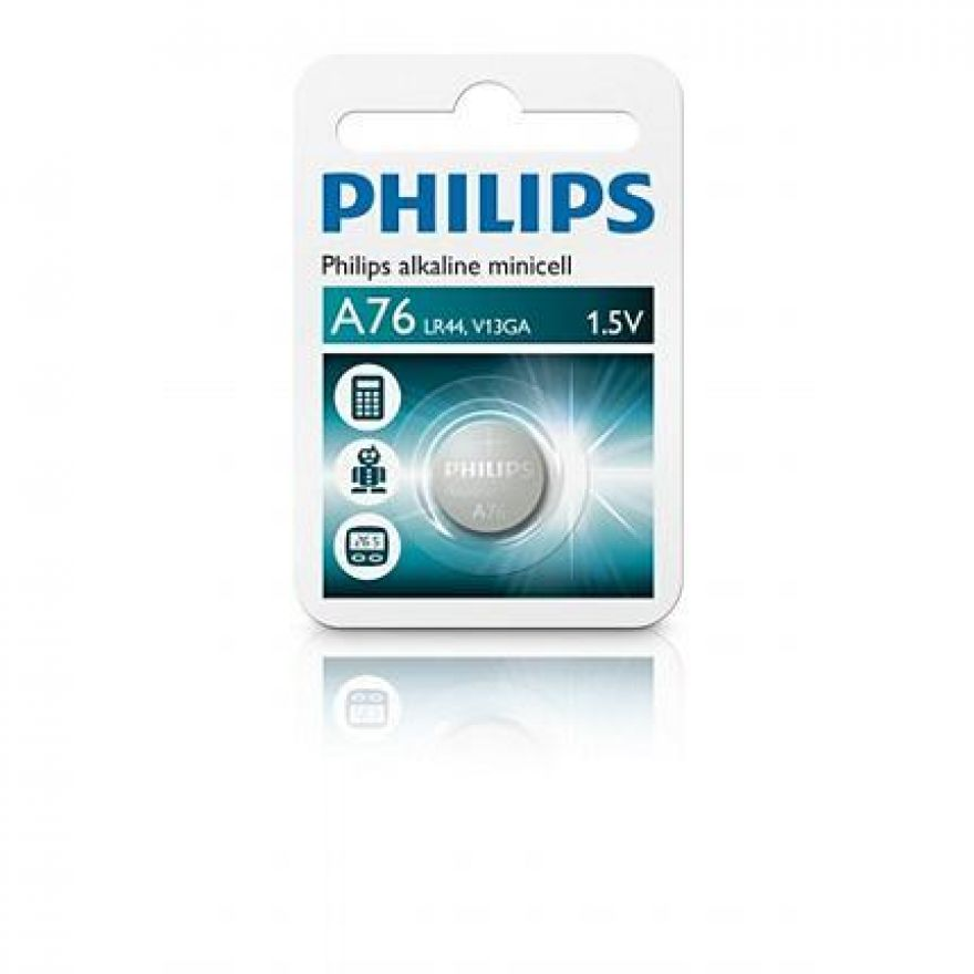0 PHILIPS - Minicell Batteria Alcalina A76