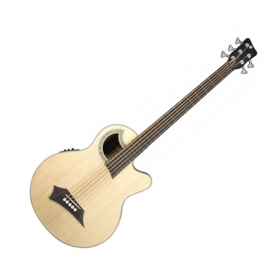 WARWICK RB ALIEN DELUXE 5 NATURAL - Basso Acustico 5 Corde Natural