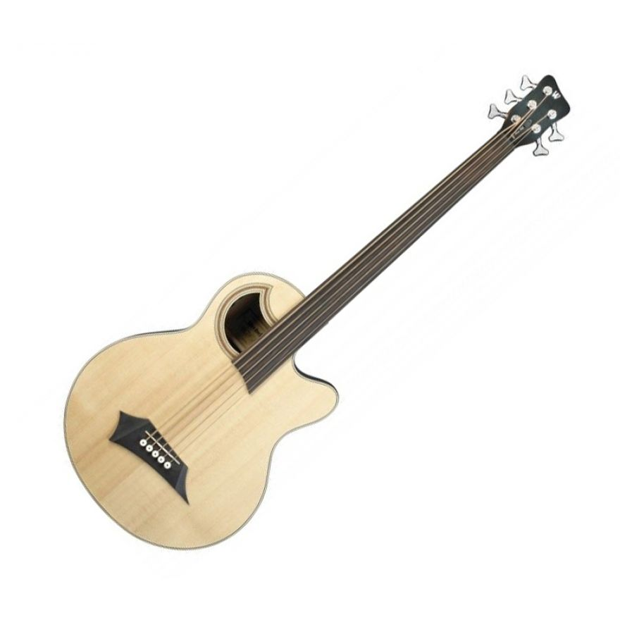 WARWICK RB ALIEN STANDARD 5 FRETLESS NATURAL - Basso Acustico 5 Corde Natural