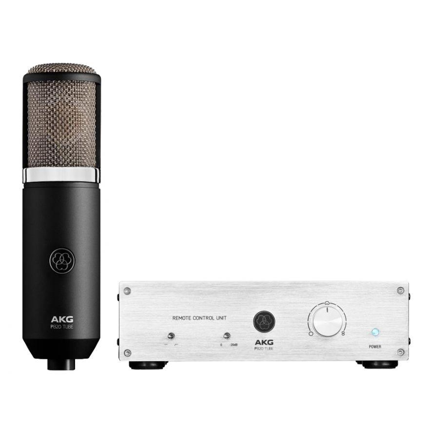 AKG PERCEPTION 820 TUBE - Microfono Valvolare Doppio Diaframma