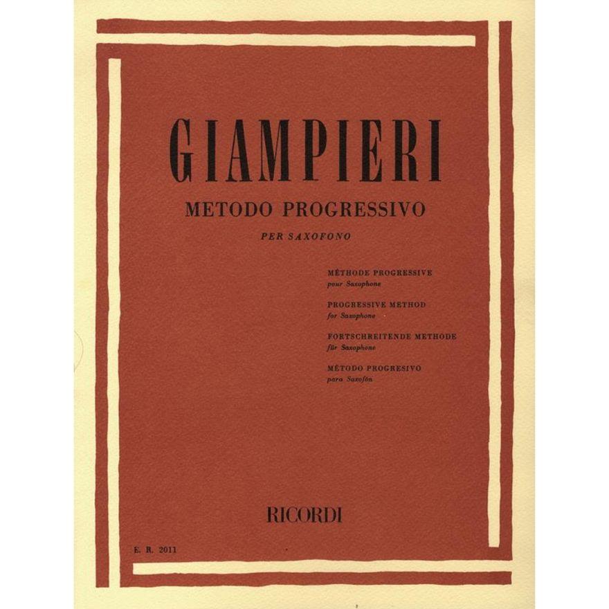 1 Alamiro Giampieri Ricordi Metodo Progressivo Sassofono