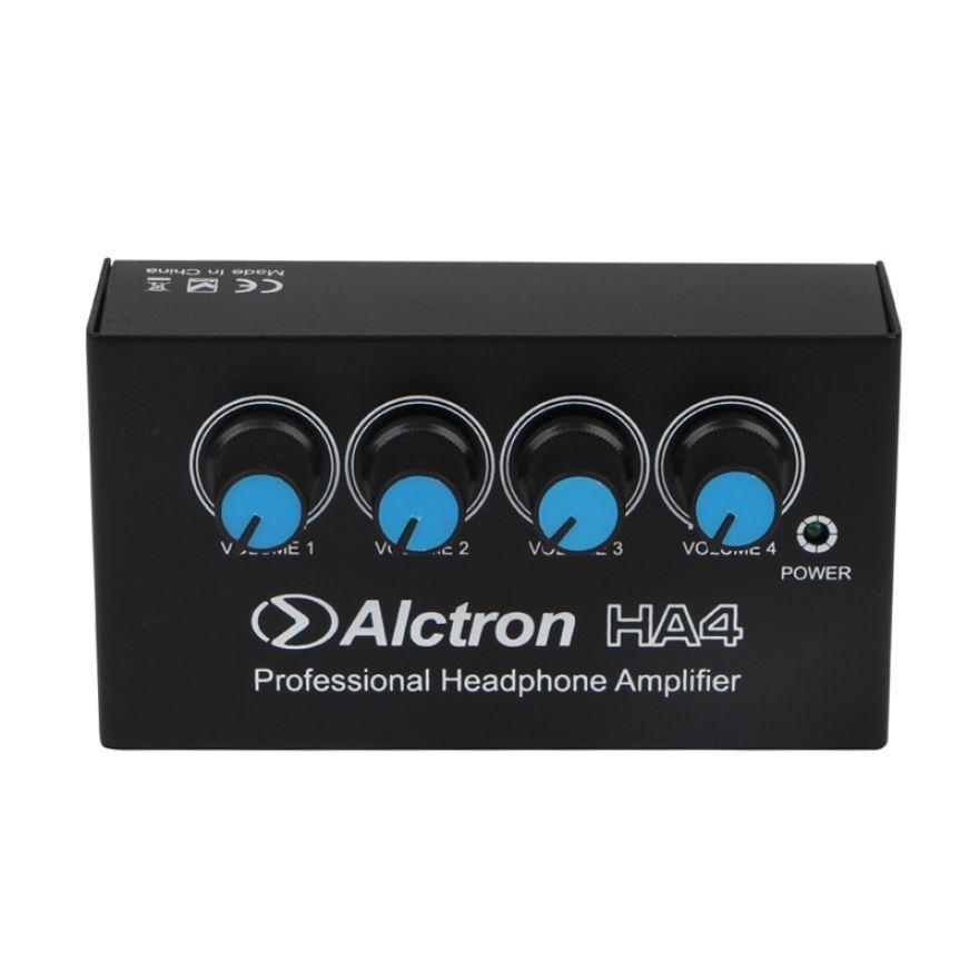 Alctron HA4 - Amplificatore per Cuffie 4 Ch