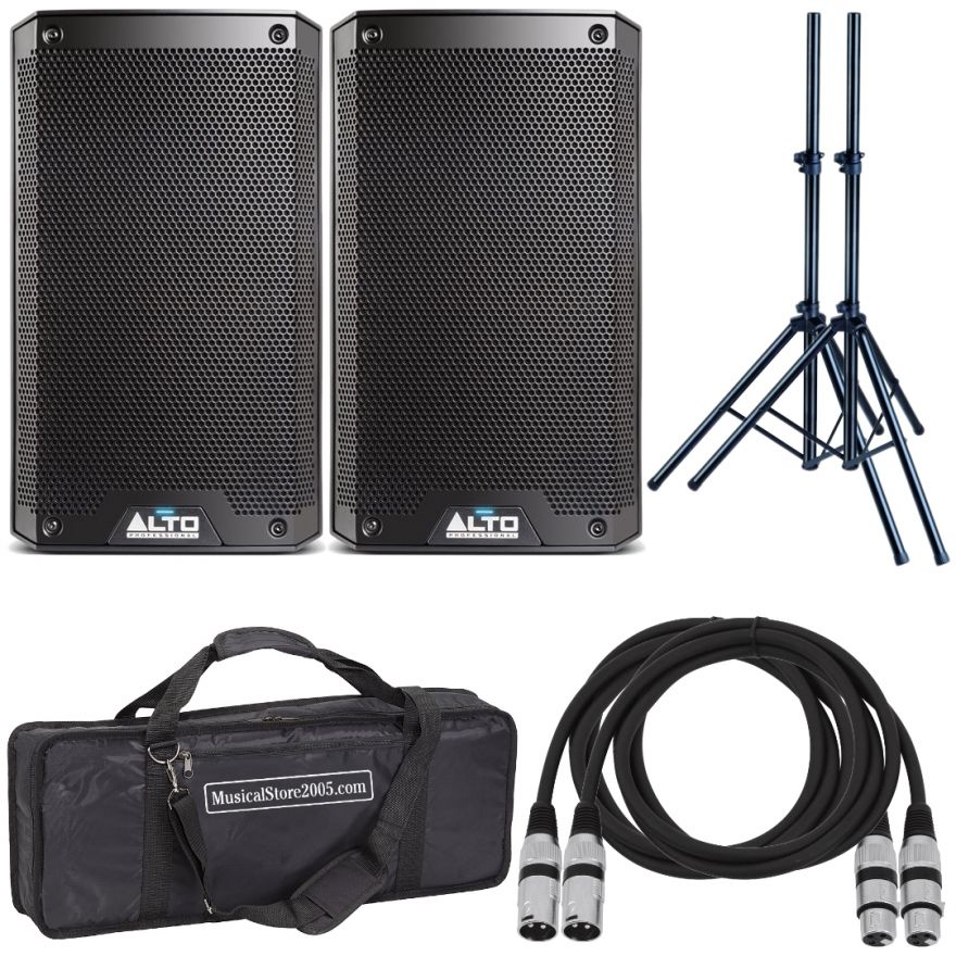 Alto TS308 (Coppia) - Cassa Amplificata DJ Attiva Impianto Karaoke Completo Professionale
