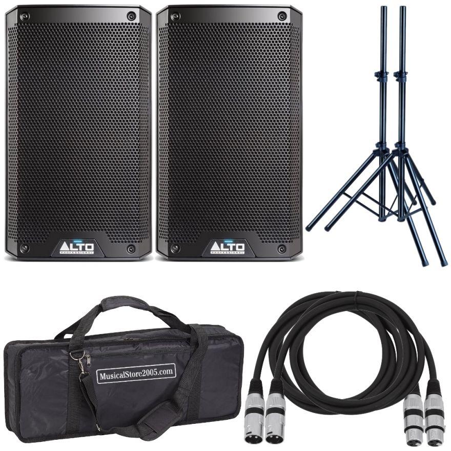 Alto TS310 (Coppia) - Cassa Amplificata DJ Attiva Impianto Karaoke Completo Professionale