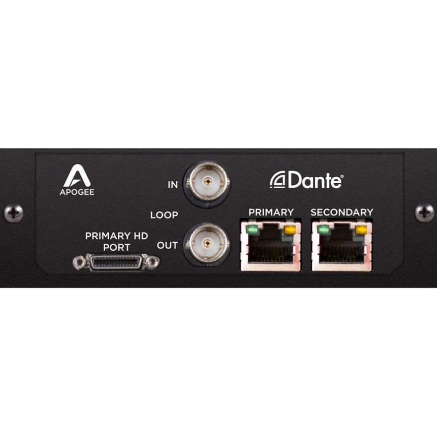 Apogee Symphony I/O MK II Dante Option Card