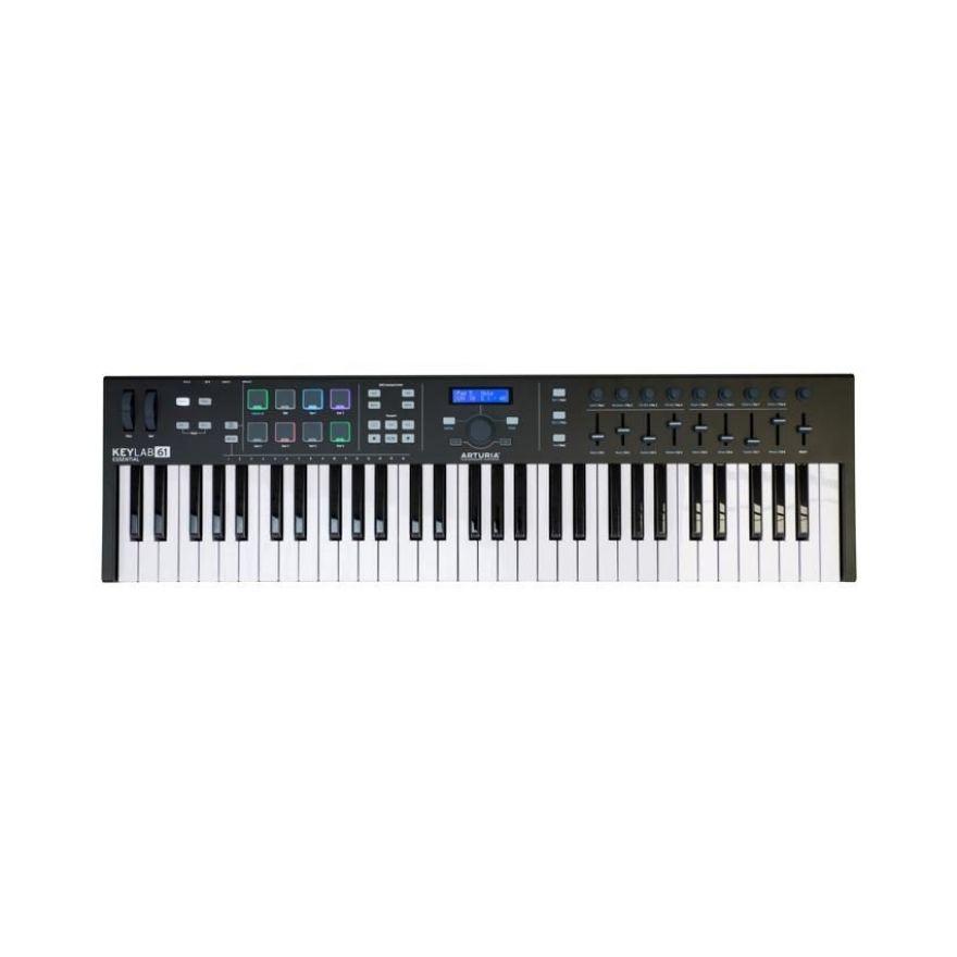 Arturia KeyLab 61 Essential BE - Tastiera MIDI/USB 61 Tasti Nera